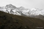 La Alcazaba (3.371 m) y el Mulhacén (3.482 m)