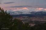 Las cumbres de La Vega ...
