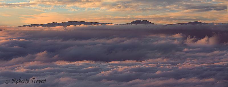Amanece en la Sierra Nevada almeriense