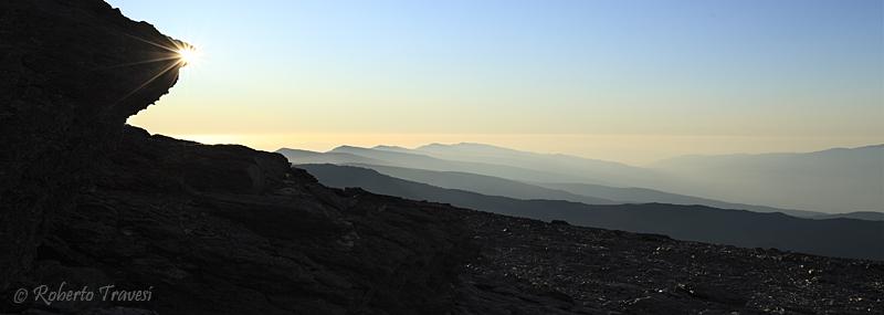 La Alpujarra desde el Mulhacén