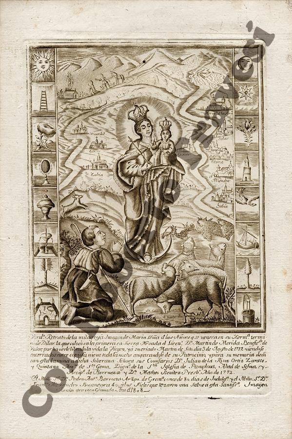 DEVOCIÓN RELIGIOSA EN SIERRA NEVADA:Virgen de las Nieves (1808)