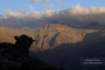 Últimas luces en La Alcazaba (3.371 m)