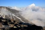 Mar de nubes desde las cumbres
