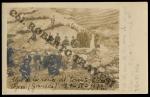Uno de los conos del torrente Chico en Orjiva (Granada). 29-IV-1919