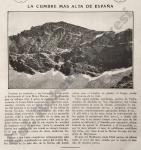 La cumbre más alta de España
