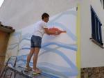 Mural a Calella 2021